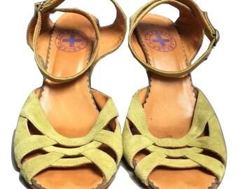 Designer Fiorentini + Baker Cone Sandals Size 6