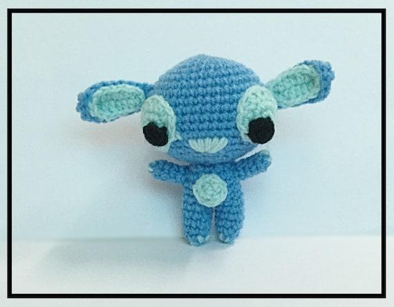 Amigurumi Lilo Y Stitch : Amigurumi Lilo Stitch Crochet Lilo Stitch Kawaii Lilo