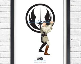Star Wars - Solo Series - Obi Wan Kenobi - 19x13 Poster