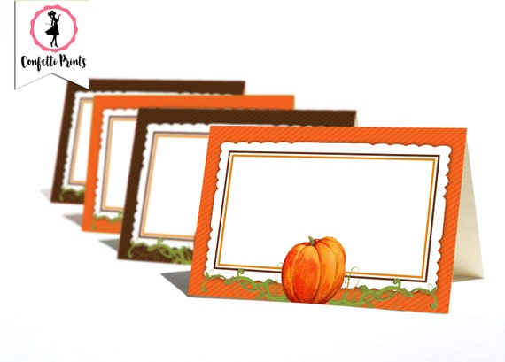 pumpkin cards Pumpkin Patch note cardsset of 10 fall cards budget EZ blank inside