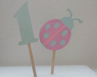 Ladybug smash cake set - Ladybug first birthday