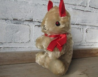Vintage Stuffed Animal Squirrel
