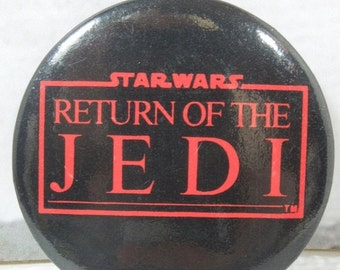 On Sale Price Vintage Return of the Jedi Button. 80's Flashback. Classic Sci-Fi Movies. Who's Your Daddy? Choose the Ways of the Jedi or the