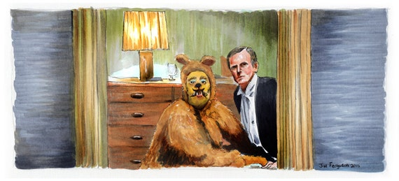 The Shining - Roger and Harry Print