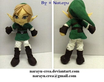 customable characters plushies (The Legend of Zelda)