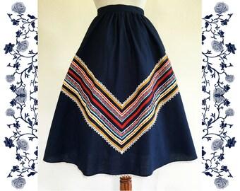 1970's Vintage Skirt