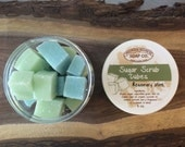 Rosemary Mint Sugar Scrub Cubes