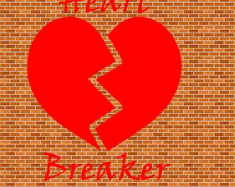 Little Heart Breaker SVG File Instant Download Cutting Machine File