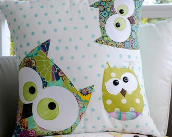 Claire Turpin Designs-Family of Owls Applique Pattern & Instructions