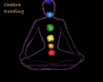 Intuitive Chakra/Energy Reading. 2- 3 typed pages (Written Report)