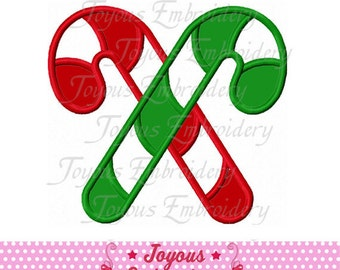 Instant Download Candy cane Embroidery Applique Design NO:1866