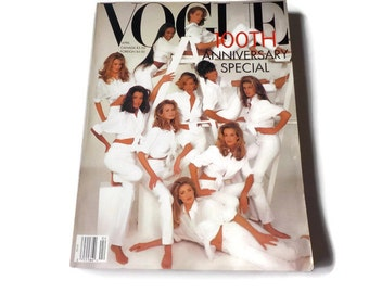 Vintage VOGUE MAGAZINE 1992...100TH ANNIVERSARY Special !!!!!