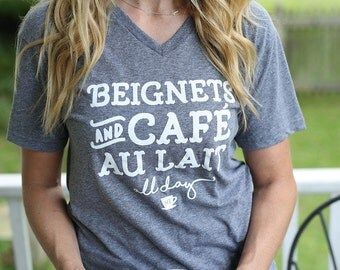 Beignets and Cafe Au Lait All Day