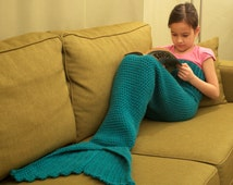 Sale 30% Off Mermaid Tail Lapghan Blanket Crochet Pattern for Children -- PDF file -- INSTANT DOWNLOAD --