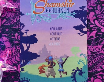 Shamshir>>AWAKEN Zine