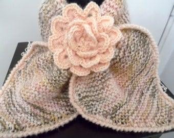 Echarpe tour de cou - CANNELLE - création Misty Tuss Tricote