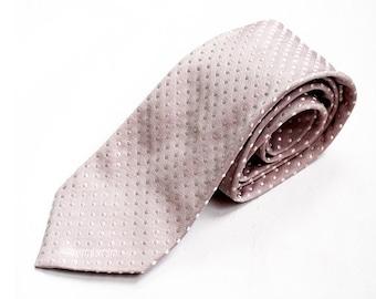 SALE Vintage Calvin Klein Men Necktie,Haute Couture Designer Men Tie ,Vintage Lilac Gray Silk Necktie