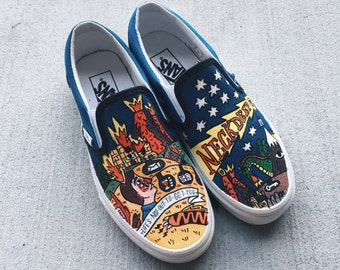 Neck Deep - Life's Not Out to Get You - album art VANS shoes