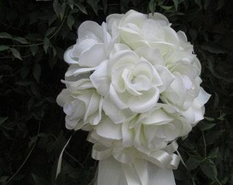 10 Wedding Aisle/Pew Decorations * Ivory