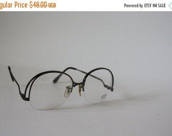 Sale 1970's Eyeglasses / Vintage Eyeglasses / Daedstock Eyeglasses / Vintage Glasses / Vintage Eyewear