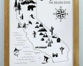 State Art Print