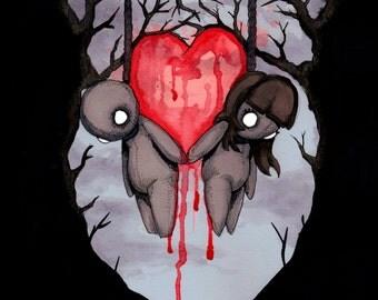 Til Death Fine Art Print