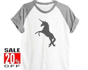 Unicorn shirt instagram shirt hipster shirt funny shirt fashion tumblr women workout shirts women tops short sleeve shirt unisex size S M L