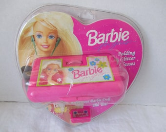 Barbie Folding Giller Glasses one for you one for Barbie Doll 1994 in Package
