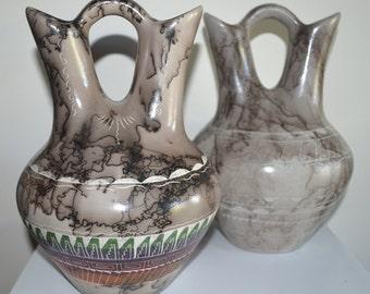 Horse Hair Wedding vase, New *Free Shipping & Lower Price*, White Wedding Vase, Etched Wedding Vase, Hand Painted-Hand Etched Wedding Vase