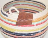 Rope Bowl / Basket - Desert Bloom
