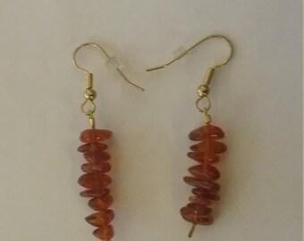 Amber Chips Earrings