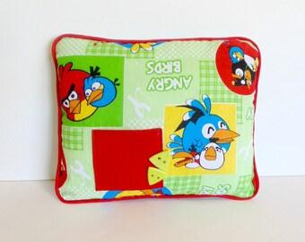 Boys Tooth Fairy Pillow , Boys Green Pillow , Boys Room Decor , Pocket Pillow