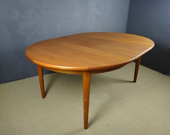 Mid Century Sorb Stole Danish Teak Dining Table