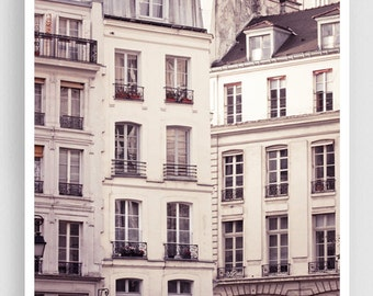 Paris photography - Rue Montmartre  - Paris facade,Paris photo,Fine art photography,Paris decor,8x10,white,Fine art prints,Art Posters