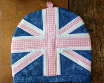 Embroidered Union Jack Tea Cosy