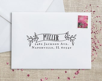 RSVP Address Stamp – Wedding Stamp – Personalized Address Stamp