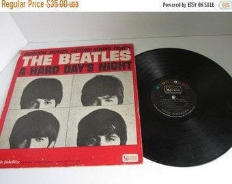 SALE The Beatles A Hard Days Night Album The Beatles Record Lp The Beatles Original Vinyl Record LP