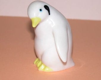 Vintage Collectible Hand blown Glass Penguin
