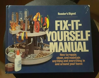 Fix it Yourself Manual, free shipping