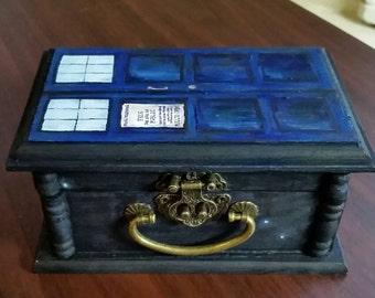 TARDIS Jewelry Box