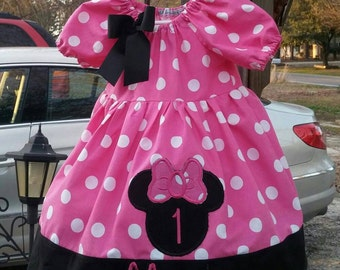 Minnie Mouse Birthday dress #1 Minnie Birthday Minnie Mouse