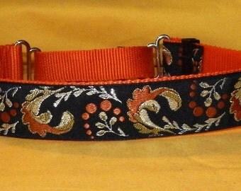 Orange Plumes collar