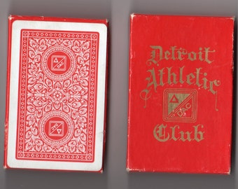 Detroit Athletic Club Playing Cards