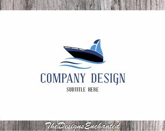 Logo Design OOAK Logo Premade Logo and Watermark Nautical Logo Boat Logo Yacht Logo Photography Logo Custom Logo Business Logo Designer