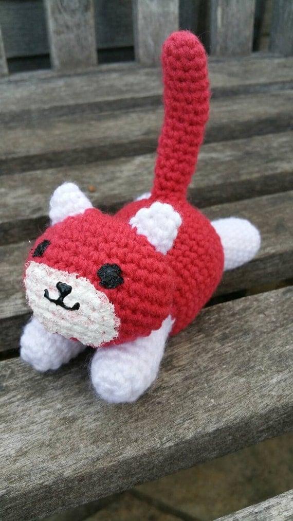Neko Atsume Ginger Crocheted Toy Amigurumi by TheSoftScientist