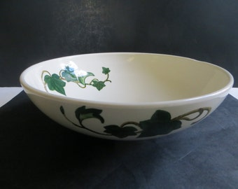 Metlox Poppytrail California Ivy 11 Inch Salad Serving Bowl