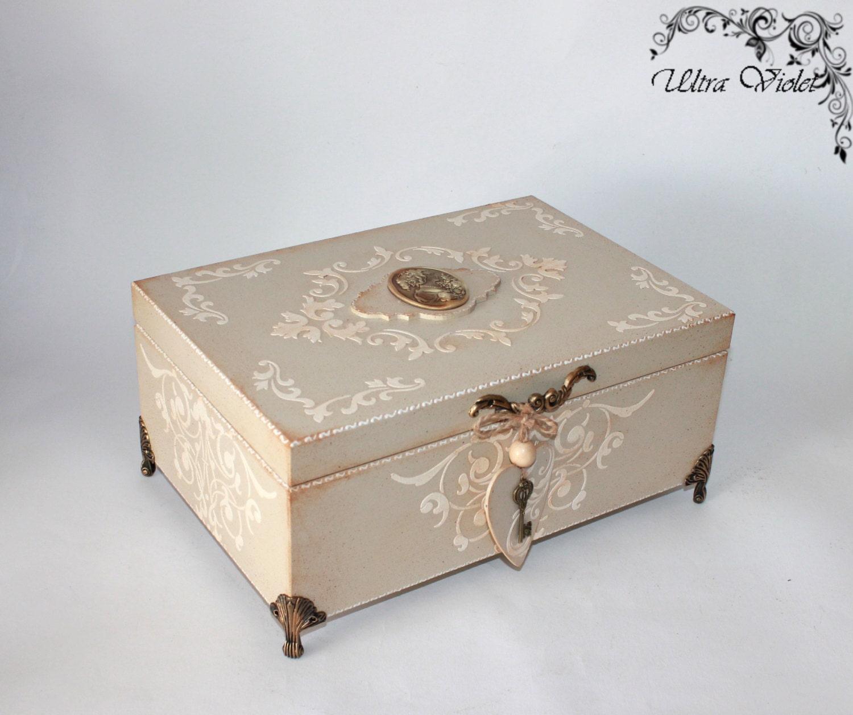 Large Jewelry Box / Jewelry Box For Jewelry And Cosmetics