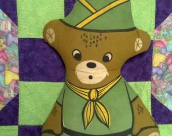 Boy Scout Cloth Bear