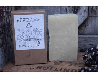 PLAIN JANE unscented soap