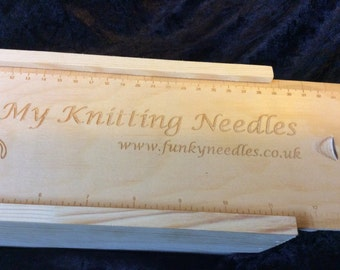 Knitting Needle Storage Boxes and Cases